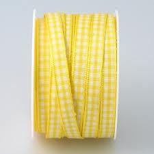 gingham yellow ribbon - Google Search