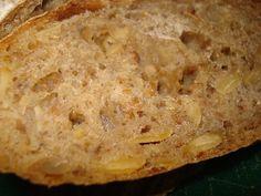 Nada mejor que pan casero!! aqui te dejamos como hacer pan de semilla de calabaza