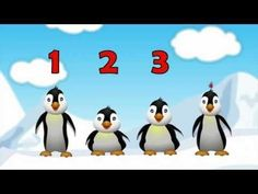 5 Little Penguins Children's Song Cartoon (By Patty Shukla) - YouTube