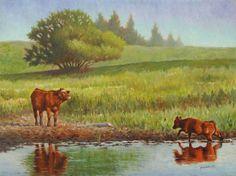 """""""Beckoning"""" German, Painting, Art, Deutsch, Art Background, German Language, Painting Art, Paintings, Kunst"""