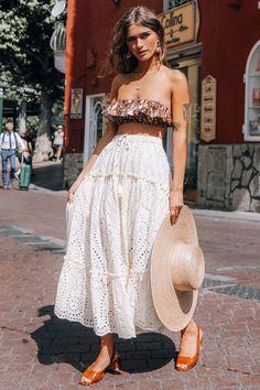 Modest Fashion, Boho Fashion, Fashion Outfits, Miami Fashion, Boho Outfits, Fashion Clothes, Mode Simple, Look Boho, Boho Style