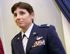 Martha McSally, an Air Force Academy graduate, is the first women to fly a fighter aircraft in combat and the first to command a fighter squadron. She is expected to clinch the Republican nomination in Arizona's Aug. 28 primary.
