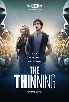 Peyton List and Logan Paul in The Thinning (2016)