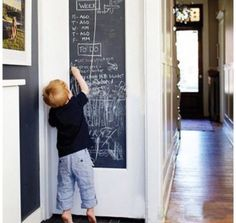 Children's kids #drawing #painting chalk board wall #sticker ,  View more on the LINK: http://www.zeppy.io/product/gb/2/172082299905/
