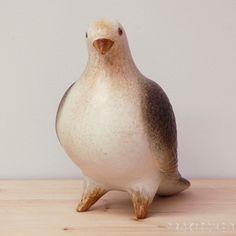 リサ・ラーソン (Lisa Larson) ハト (Pigeon)