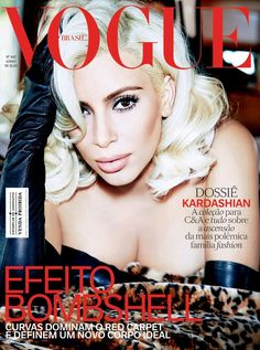 Pin for Later: Does Kim Kardashian Do Marilyn Monroe Justice on the Cover of Vogue?