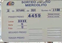 Resultados Loteria Nacional de Panama miercoles 22 de Octubre 2014. Detalles completo ver el Blog..... Noti del Cafe de Oscar: Este viernes 24 de Octubre juega el sorteo del Gordito del Zodiaco.