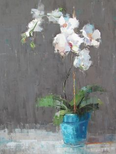 Barbara Flowers - White Orchid