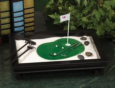 Personalize it to reflect your passions. Anyone up for some mini-golf?