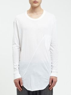 371f5dc1df19 DAMIR DOMA MENS AW14 TINGUA LONG SLEEVE JERSEY TOP in Color BONE
