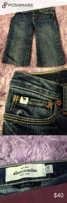 Abercrombie Skinny Jeans Abercrombie Skinny Jeans. Size 10 Slim! NWOT and in perfect condition. abercrombie kids Bottoms Jeans