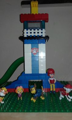 Paw patrol tower lego duplo and unico