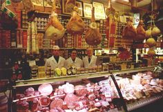 Delicious authentical Italian products at G. Albertini Verona.  http://www.amazon.com/La-TAVOLA-Adventures-Misadventures-American/dp/1463618123