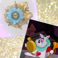 #LUVIT 😍 Custom White Rabbit Inspired Lapel Pin made to wear to Dapper Day at Disneyland 🐰 LUV the clock charm center 💖 #whiterabbit #aliceinwonderland #whiterabbitcosplay #whiterabbitcostume #dapperday #lapelpins #lapelpin #brooch #brooches #boutonniere #disneyfun #disneyfan #disneyaddict #disneyobsessed #disneyfashion #disneylover #disneystyle #disneybound #disneybounding #disneycostume #disneymagic #disney #disneyland #disneyworld #disneylandparis #disneyfan #disneylife…