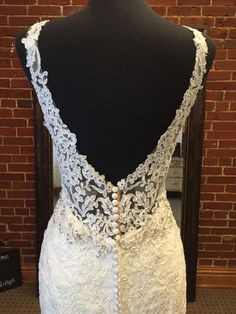 Stunning lace wedding dress by Stella York!