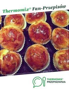 Pączki pieczone jest to przepis stworzony przez użytkownika eliwona. Ten przepis na Thermomix<sup>®</sup> znajdziesz w kategorii Słodkie wypieki na www.przepisownia.pl, społeczności Thermomix<sup>®</sup>. Muffin, Breakfast, Food, Thermomix, Morning Coffee, Essen, Muffins, Meals, Cupcakes