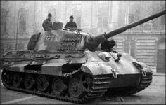 German King Tiger II Tank in Budapest castle. Luftwaffe, Erwin Rommel, Tiger Ii, Military Armor, Tiger Tank, Tank Destroyer, Ww2 Photos, Ww2 Tanks, World Of Tanks