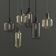 Amp hanglamp Normann Copenhagen klein zwart - Bestel hem hi
