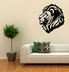lion paintings on wall - Αναζήτηση Google