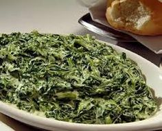 Ruth Chris Steakhouse Copycat Recipes--creamed spinach