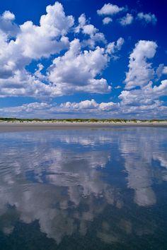 Day at the beach .. Clouds and Beach, Kiawah Island, SC