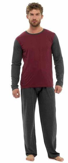 ff0519cdf7 Tom Franks Jersey Cotton Two Tone Pyjamas Medium TD182 QQ 05  fashion   clothing