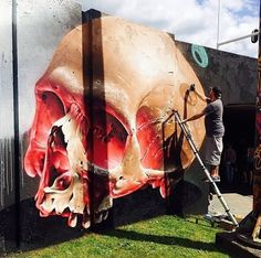 That's fuckin cool... SMUG.. . #graffiti #streetart