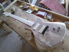Thelema CARO* - prototype for a upcoming hollowbody guitar