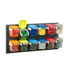 Honey-Can-Do STO-6627 Flip12 Storage (multi) (Plastic)