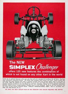 Vintage 1960 Putt-Nik Scorpio Racing Go-Kart Ad