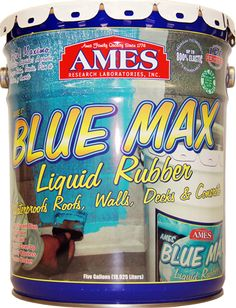 I'm Blue Max Liquid rubber.  I stretch up to 700%.  I am also Super Strong!!!  That's because I am made from a new, impenetrable, rubber technology. When I am liquid I crawl in to all the crevices and cracks in cement blocks, mortar, foundations and basement walls and then I dry as a durable rubber, sealing out all leaks.    I'm so strong I even hold back water when I am applied to the inside of a basement wall.   When it comes to waterproofing – I am a basement's best friend…