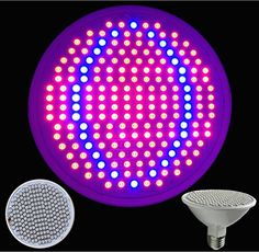Taopu LED Grow Light Bulb 20W Plant Grow Light with Full Spectrum for Indoor Plants Greenhouse and Hydroponic GrowingE27 200LEDs Pack of 1 -- Find out more about the great product at the image link.(This is an Amazon affiliate link and I receive a commission for the sales)