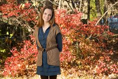 Ravelry: Braided Cable Vest pattern by Rachel Henry