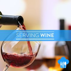WINE TIPS  Make sure that your wine is being served at its absolute best. To do that pay attention to these tenets of wine service:  Glassware: Most wine glasses are specifically shaped to accentuate flavour directing wine to key areas of the tongue and nose where they can be fully enjoyed. While wine can be savoured in any glass a glass designed for a specific wine type helps you to better experience its nuances. Outfit your house with a nice set of stems and you will reap the rewards…