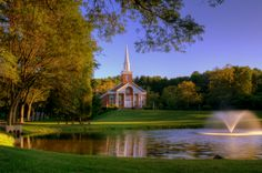 Childhood church - the most picturesque church in the world.  Christ the King Catholic Church in New Vernon, NJ