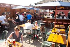 The best rooftop patios in Toronto provide something to sip on while gazing out over our beautiful city, and maybe a great bite to eat too. Rooftop Dining, Rooftop Patio, Patio Bar, Backyard Patio, Terrace, Canada Travel, Toronto, Good Things, Outdoor Decor