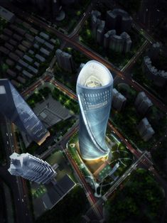 Tallest Building in China: Shanghai Towers