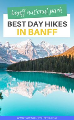 Are you planning to travel to Banff and are looking for some great day hikes? Here are 7 Awesome Day Hikes in Banff National Park -PLUS a Map! I hiking in Banff I Banff trails I Banff hiking trails I trails in Banff I Canada travel I hiking in Canada I Canada hiking trails I trails in Canada I hiking in Alberta I Alberta hiking trails I trails in Alberta I where to hike in Banff I where to hike in Canada I where to hike in Alberta I Alberta travel I #hiking #Canada #Alberta #Banff Hiking Guide, Hiking Trails, Banff National Park, National Parks, Alberta Travel, Canadian Travel, Visit Canada, Day Hike, Banff Hiking