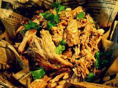 Pulled Pork Mexicon tyyliin ynnä kvinoat, salsat ja molet