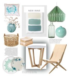"""New wave"" by daniel-mrva ❤ liked on Polyvore featuring interior, interiors, interior design, home, home decor, interior decorating, Wedgwood, Wild & Wolf, By Lassen and Thro"