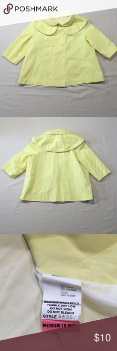 Vintage Looking Yellow Jacket Size 18 months Great pre-loved condition. Item #SB359 Jackets & Coats Pea Coats