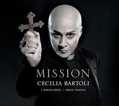 """Cecilia Bartoli's latest album to be called """"Mission"""""""