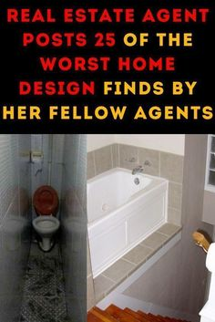 Real Estate Agent Posts 25 of the Worst Home Design Finds by Her Fellow Agents Wtf Fun Facts, Real Estate, House Design, Long Sleeve, Bodycon Dress, Sweatshirt, Stickers, Button, Celebrities