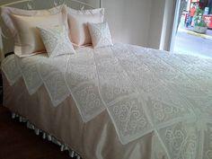 Dantel yatak örtüsü ve şeması (37)