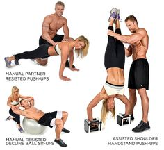 Partner Workout Plans: Building The Perfect Body Together - More K and K Couples Workout - Bodybuilding.com