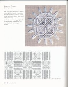 Cutwork Embroidery, Hand Embroidery Stitches, Embroidery Ideas, Drawn Thread, Thread Work, Linen Tablecloth, Work Inspiration, Couture, Hand Sewing
