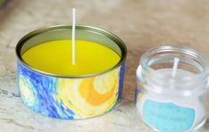 Aprenda a fazer velas de citronela para espantar insetos e ainda decorar a casa