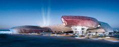 DSO-Plex spaceship designed by Söhne & Partner Architekten