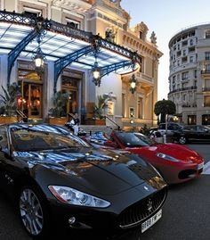The cars in #Monaco