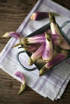 Baby Eggplants by i am wei